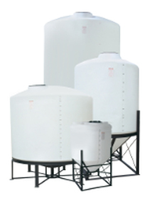 Cone Bottom Tanks and Stands