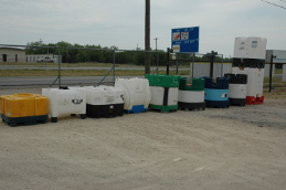 Used Tanks,Totes, and Barrels