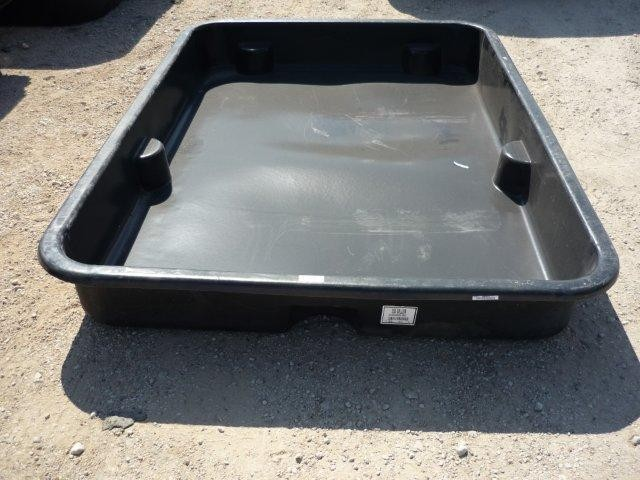 250 Gallon Containment Basin Tank Chemical Injection