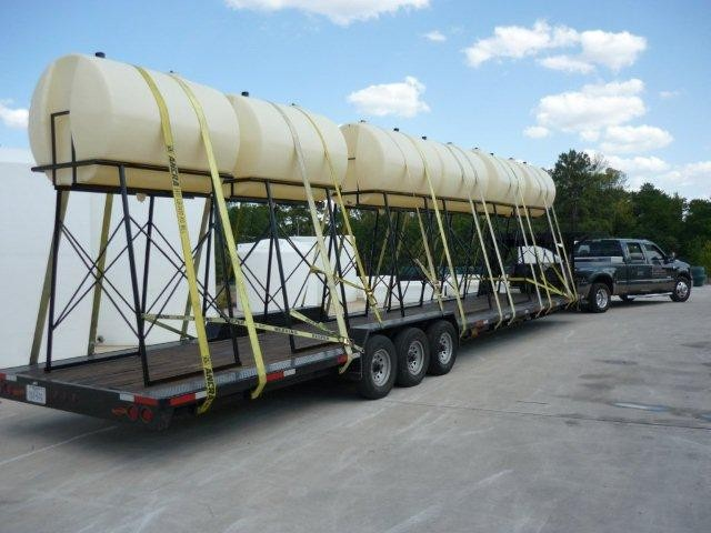 500 gallon elevated storage tank for diesel