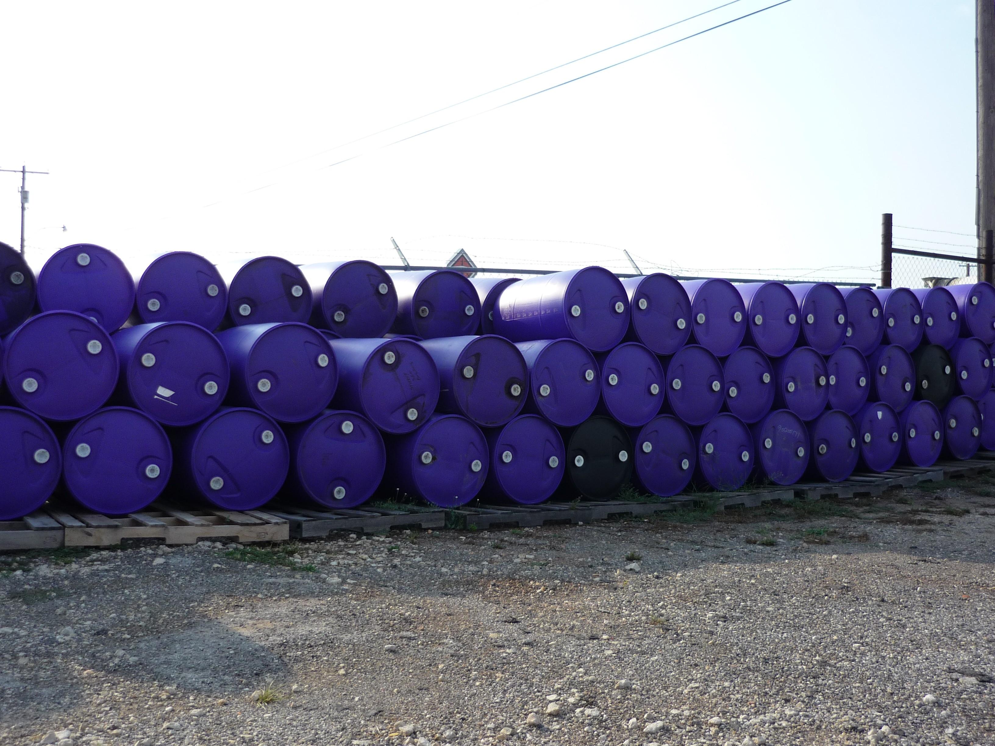 Used 55 Gallon Barrel